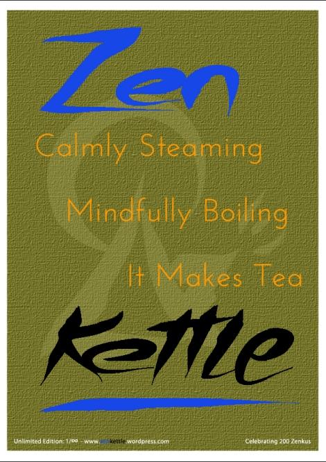 Zen Kettle poster